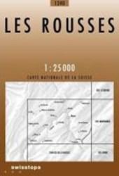 Swisstopo 1 : 25 000 Les Rousses
