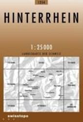 Swisstopo 1 : 25 000 Hinterrhein