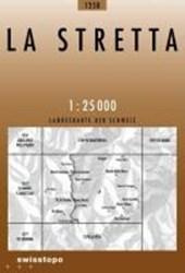 Swisstopo 1 : 25 000 La Stretta