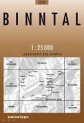 Swisstopo 1 : 25 000 Binntal