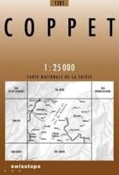 Swisstopo 1 : 25 000 Coppet