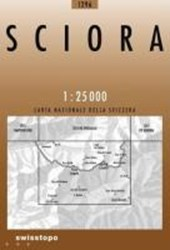 Swisstopo 1 : 25 000 Sciora