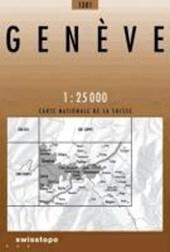 Swisstopo 1 : 25 000 Genève