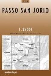 Swisstopo 1 : 25 000 Passo San Jorio