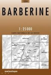 Swisstopo 1 : 25 000 Barberine