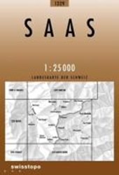 Swisstopo 1 : 25 000 Saas