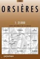 Swisstopo 1 : 25 000 Orsières