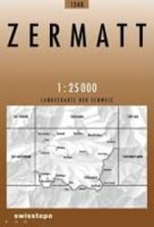 Swisstopo 1 : 25 000 Zermatt