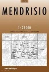 Swisstopo 1 : 25 000 Mendrisio