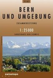 Swisstopo 1 : 25 000 Bern und Umgebung