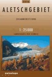 Swisstopo 1 : 25 000 Aletschgebiet