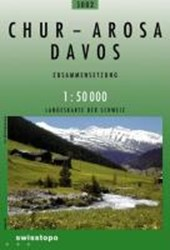 Swisstopo 1 : 50 000 Chur - Arosa - Davos