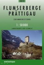 Swisstopo 1 : 50 000 Sarganserland - Prättigau