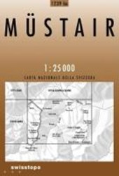 Swisstopo 1 : 25 000 Müstair