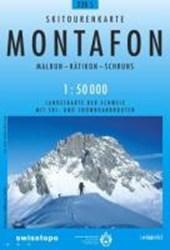Swisstopo 1 : 50 000 Montafon Ski