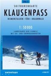 Swisstopo 1 : 50 000 Klausenpass