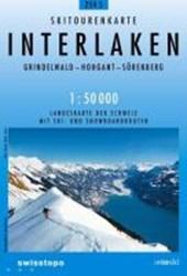 Swisstopo 1 : 50 000 Interlaken
