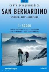 Swisstopo 1 : 50 000 San Bernardino Ski
