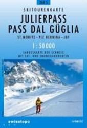 Swisstopo 1 : 50 000 Julierpass - Pass Dal Güglia Skitourenkarte