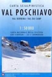 Swisstopo 1 : 50 000 Val Poschiavo