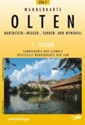 Swisstopo 1 : 50 000 Olten