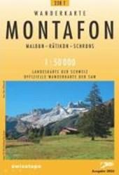 Swisstopo 1 : 50 000 Montafon