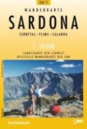 Swisstopo 1 : 50 000 Sardona