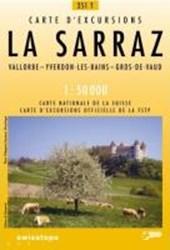 Swisstopo 1 : 50 000 La Sarraz