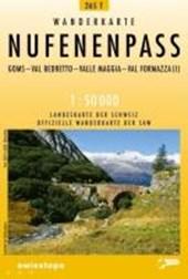 Swisstopo 1 : 50 000 Nufenenpass