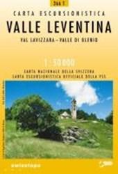 Swisstopo 1 : 50 000 Valle Leventina