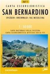 Swisstopo 1 : 50 000 San Bernardino