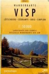 Swisstopo 1 : 50 000 Visp