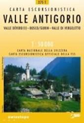 Swisstopo 1 : 50 000 Valle Antigorio