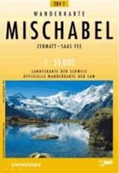 Swisstopo 1 : 50 000 Mischabel