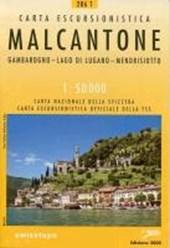 Swisstopo 1 : 50 000 Malcantone