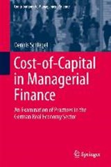 Cost-of-Capital in Managerial Finance | Dennis Schlegel |