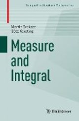 Measure and Integral | Martin Brokate |