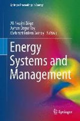 Energy Systems and Management | auteur onbekend |