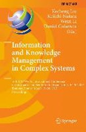 Information and Knowledge Management in Complex Systems |  |