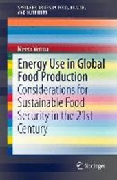 Energy Use in Global Food Production