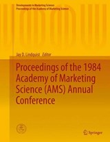 Proceedings of the 1984 Academy of Marketing Science (AMS) Annual Conference | auteur onbekend |