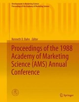 Proceedings of the 1988 Academy of Marketing Science (AMS) Annual Conference |  |