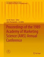 Proceedings of the 1989 Academy of Marketing Science (AMS) Annual Conference |  |