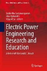 Electric Power Engineering Research and Education | auteur onbekend |
