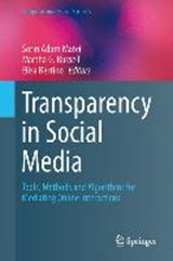 Transparency in Social Media | auteur onbekend |