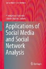 Applications of Social Media and Social Network Analysis | auteur onbekend |