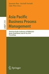Asia Pacific Business Process Management | auteur onbekend |