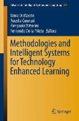 Methodologies and Intelligent Systems for Technology Enhanced Learning | auteur onbekend |