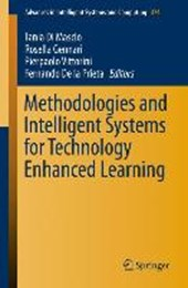 Methodologies and Intelligent Systems for Technology Enhanced Learning |  |