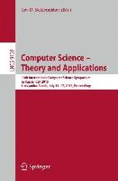 Computer Science -- Theory and Applications |  |